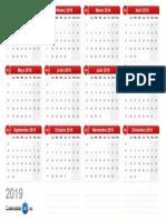 Calendario 2019 v2.0