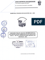 Bases Cas 002-2019 de La Muncipalidad Distrital de Quichuas