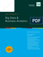 Handout Master of Science m Sc Big Data Und Business Analytics 1327