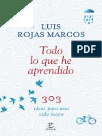 Rojas Marcos Todo Lo Que He Aprendido