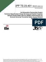 3GPP TS 23.401 V8.8.0 (2009-12)