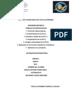 Tarea de Ing Toledo, Unidad 4 AUTOMATIZACIÓM