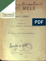 Robert Dubarle, Tarii Mele, 1917