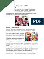 Fiestas Andinas en Bolivia
