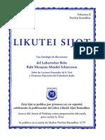Likutei Sijot II Bamidbar 2019