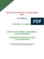 (eBook - Electronics) - Principles of PLL - Tutorial (Kroupa 2000)