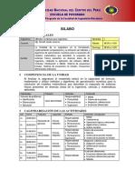 Silabo Métodos Numéricos 2019 I