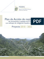 Plan de Accion Restauración EL SALVADOR