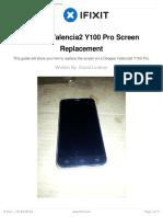 Doogee Valencia2 Y100 Pro Screen Replacement