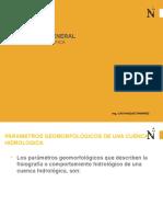 4. Parametros Geomorfologicos - 2017-1