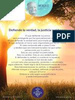 P. Dávila (Defiende La Verdad, La Justicia y El Honor)