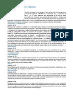 Leyes que regulan a la publicidad 20012-2019