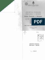 Sobre Archivos Públicos y Privados