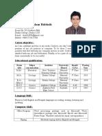 Bidduth CV Final (1)