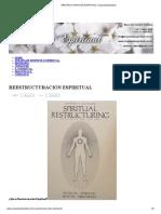 REESTRUCTURACIÓN ESPIRITUAL _ respuestaespiritual