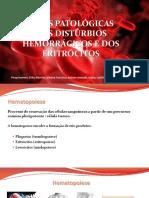 Bases Patológicas dos distúrbios hemorrágicos