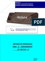 CALCULO III