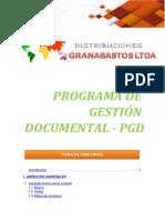 PGD DISTRIBUCIONES GRANABASTOS