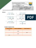 Evaluacion de Fisica Temperatura