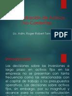 Administracion de Activos No Corrientes