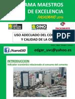 Uso Adecuado Del Concreto - 3 Pacasmayo 2016