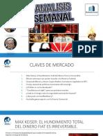 Estrategias Semanales - 28 Mayo 2019 - Trading y Mercados Financieros.