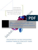 Planning to Succeed - The Definitive eGuide for Building Company Financial Forecasts Mark Ostryn DRAFT 180708