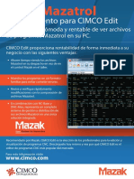 Cimco Mazatrol Viewer Brochure Es