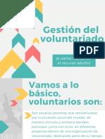 Gestión Del Voluntariado (scout)