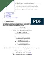 CÃ-LCULO DE PÃ_RDIDAS DE CARGA EN TUBERÃ-AS