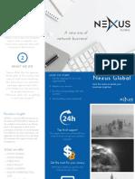 Nexus Global Brochure English