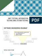 TM-8 Unit Testing Integration Testing and System Testing