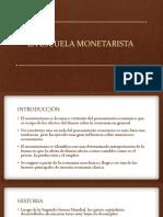 6. Escuela Monetarista