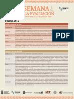Semana Evaluación Puebla 2019