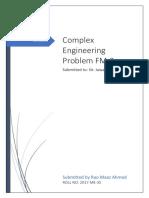 Complex Engineering Problem of FM(1)