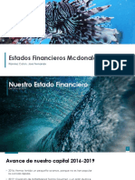 Estados Financieros Mcdonald´s