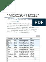 Microsoft Exce