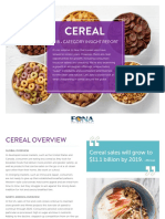 Cereal Category Insight 0118 1