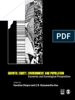 Kanchan Chopra, C H Hanumantha Rao-Growth, Equity, Environment and Population_ Economic and Sociological Perspectives (Studies in Economic and Social Development) (2008)