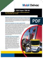 Sell Sheet Mobil Delvac 1300 Super 15w40