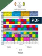 Hnhs Class Schedule Final Sy 19 20 Jhs