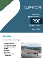 Terminal 5 update June 2019