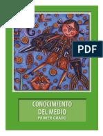 1° LIBRO DE TEXTO DEL ALUMNO CONOCIMIENTO DEL MEDIO