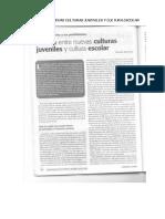 13. Texto - Brecha Entre Nuevas Culturas Juveniles y Cultura Escolar