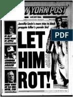 NY Post Sept. 1992