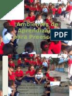 Ambientes de Aprendizajes de Preescolar.ppsx2
