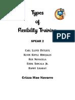 Types of Flexibility Training
