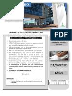 Caderno de Questoes - Cargo 11 Tecnico Legislativo