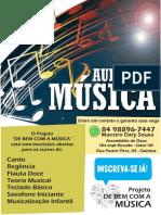 Cartaz de Bem Com a Musica