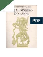 O Jardineiro Do Amor - R. Tagore